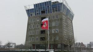 Ook Rijnsigt vlagt voor Nijkerk 600 jaar.